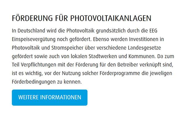 Photovoltaikanlagen Foerderungen bei  Lunow-Stolzenhagen